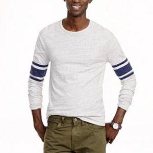 New J. Crew Men's Cotton Long Sleeve Top
